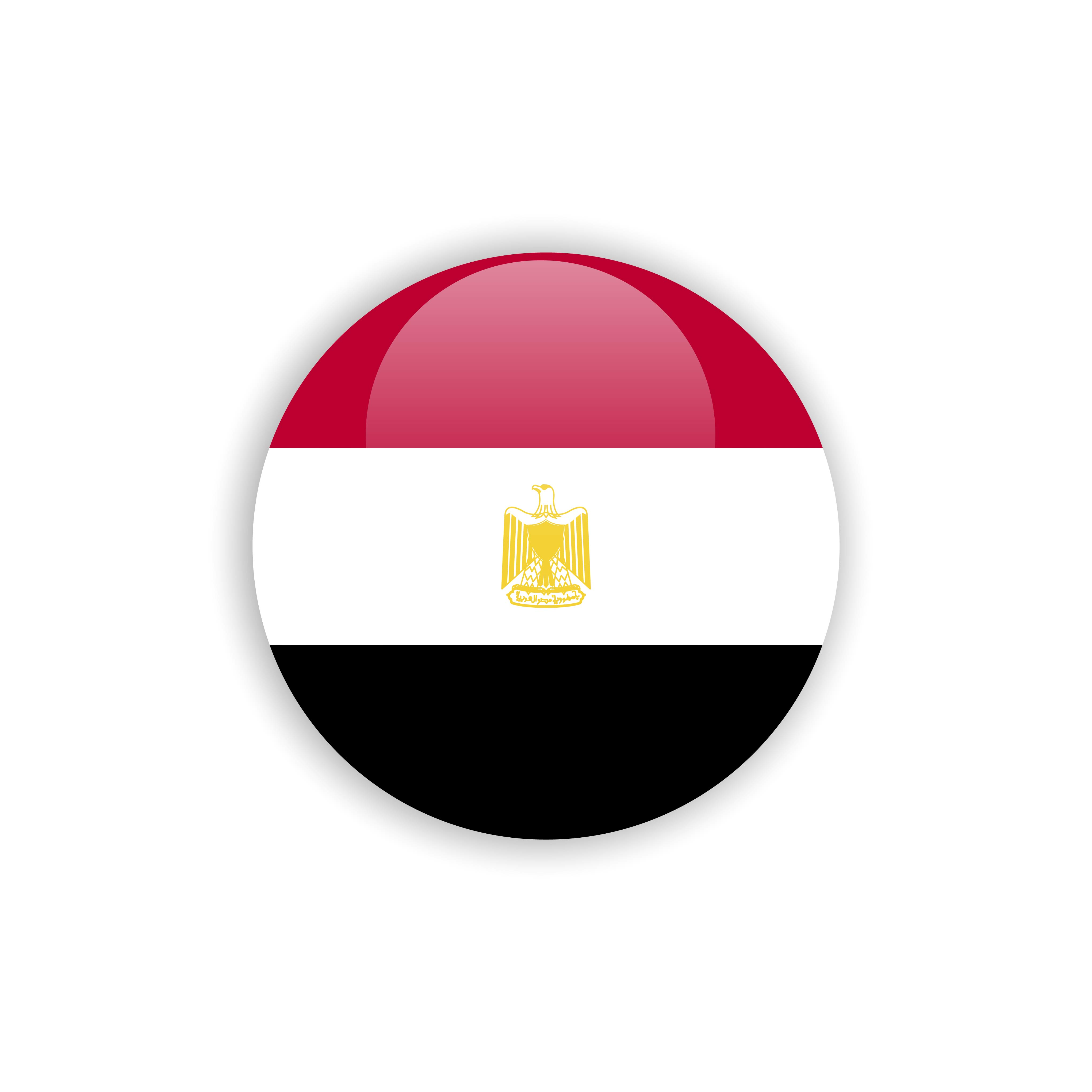 —Pngtree—button egypt flag vector template_4146693