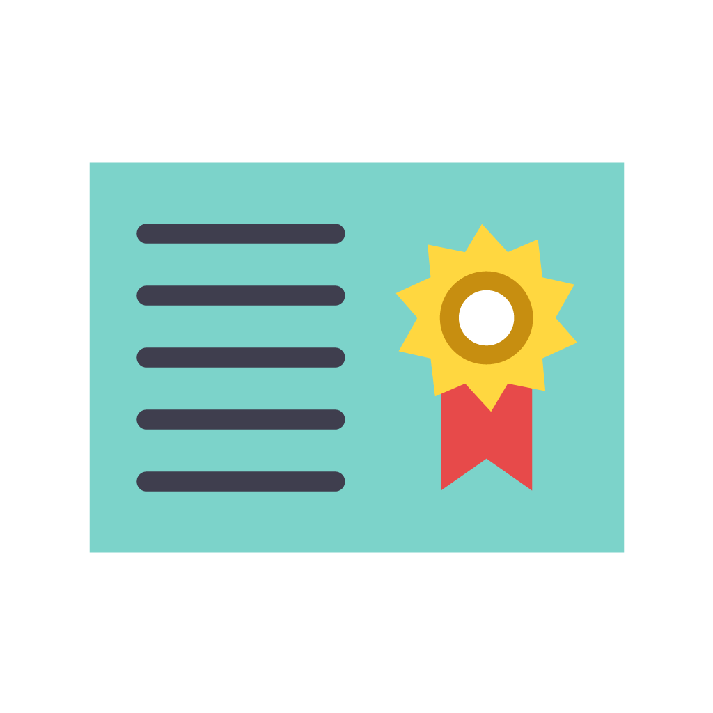 —Pngtree—certificate icon_3728072
